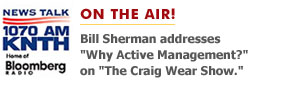 Bill's Recent Appearance on The Craig Wear Radio Show. Click to listen.